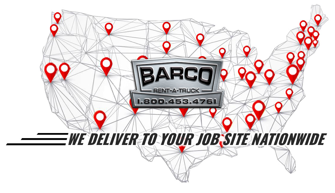 We deliver to your job site nationwide